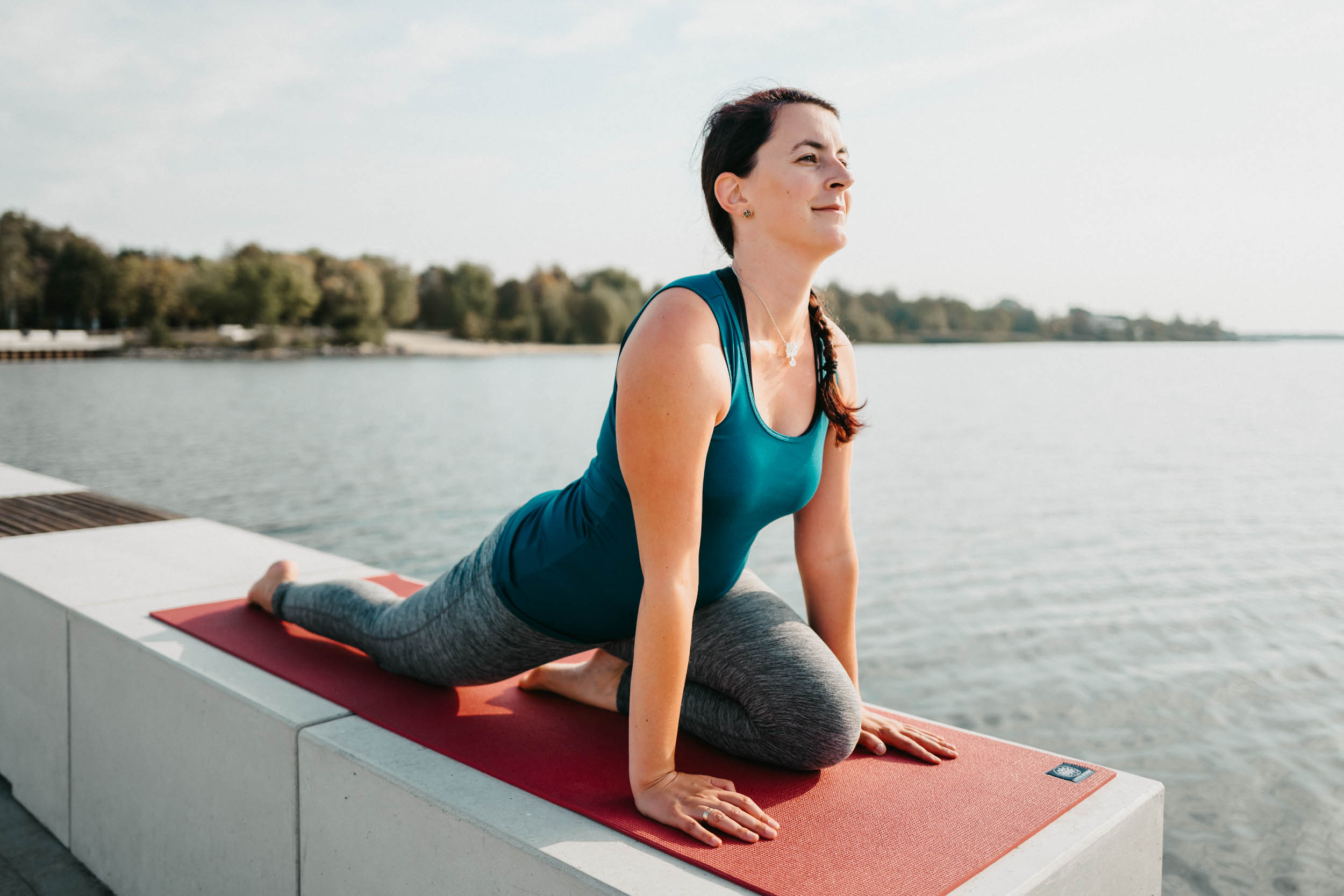 Yoga im Lausitzer Seenland - Sophia Krahl